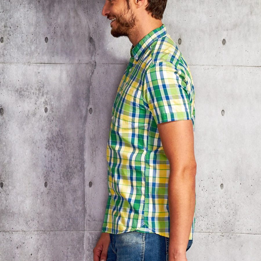 Koszula-P02013-zielony