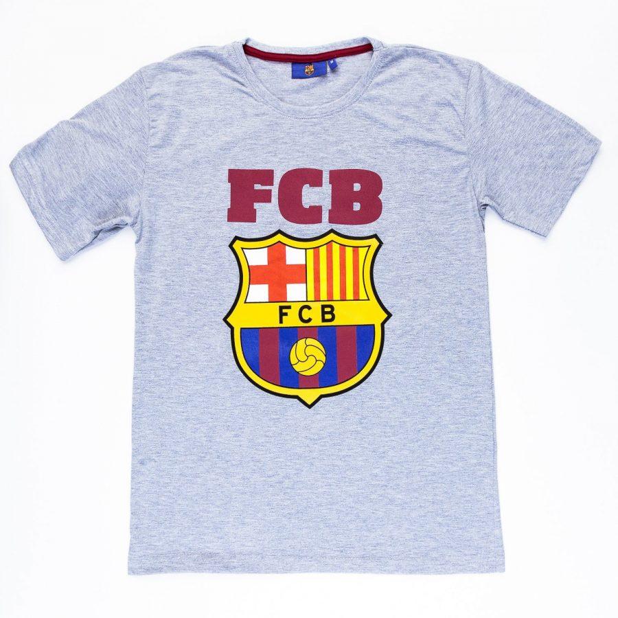 T-shirt-FCB5202027WOL-szary