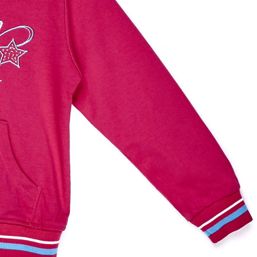Bluza-66-BL-YB4807-ciemny różowy