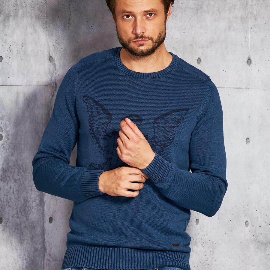 Sweter-20916010-niebieski
