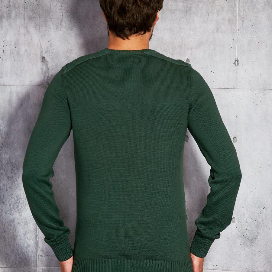 Sweter-20916010-ciemny zielony