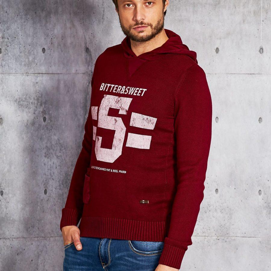 Sweter-20916011-bordowy