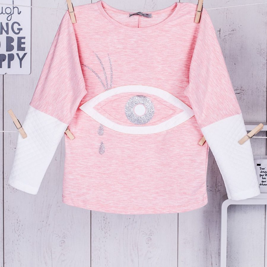 Bluzka-TY-BZ-9864.18-jasny różowy