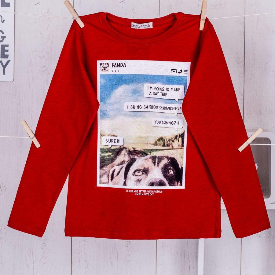 Bluzka-TY-BZ-9144.22-czerwony