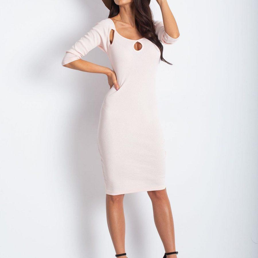 Sukienka-PL-SK-1409.04-jasny różowy