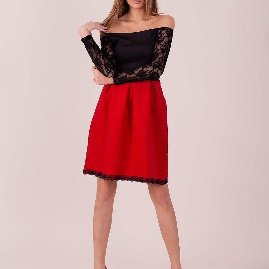 Sukienka-141-SK-240.90-czarno-czerwony