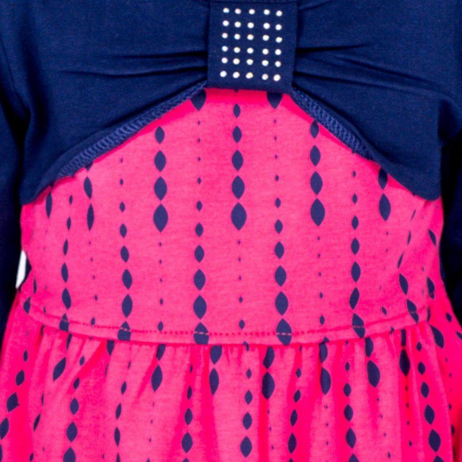 Sukienka-TY-SK-9412.43-ciemny różowy
