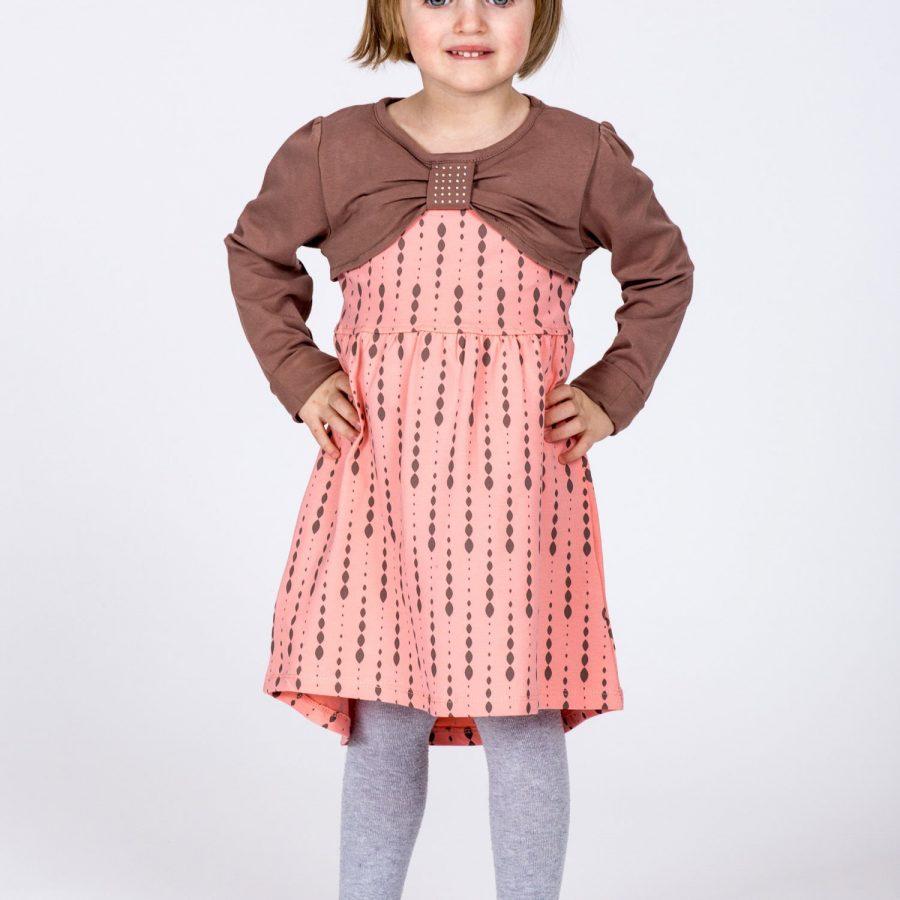 Sukienka-TY-SK-9412.43-brzoskwiniowy