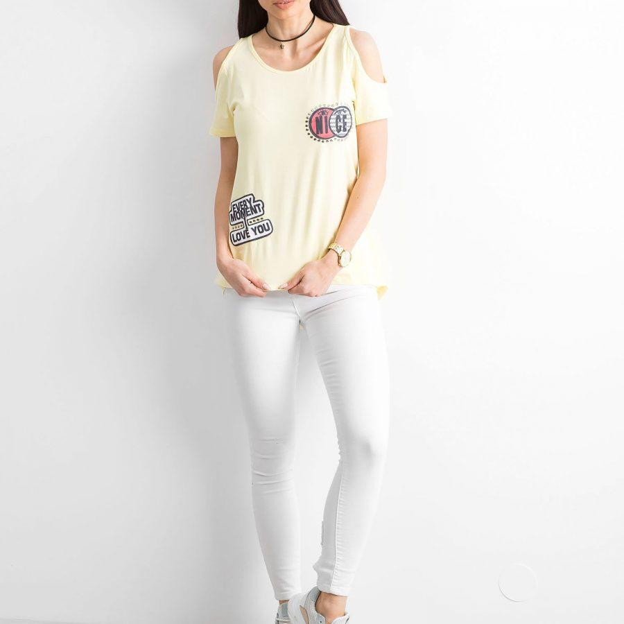 T-shirt-FP-HDM-TS-1495.42-żółty