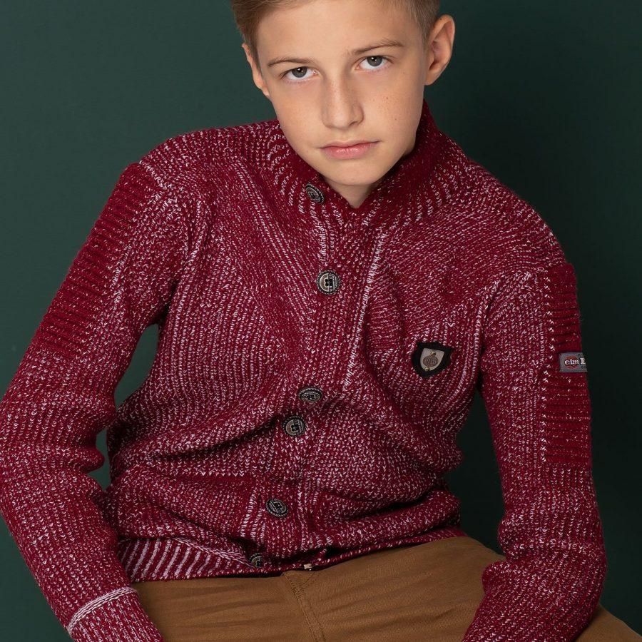 Sweter-TY-SW-9203.31-bordowy