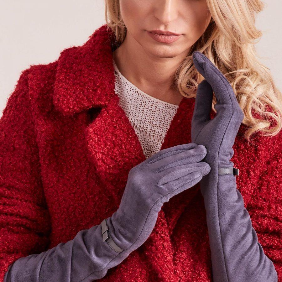 Rękawiczki-AT-RK-12601.16-szary