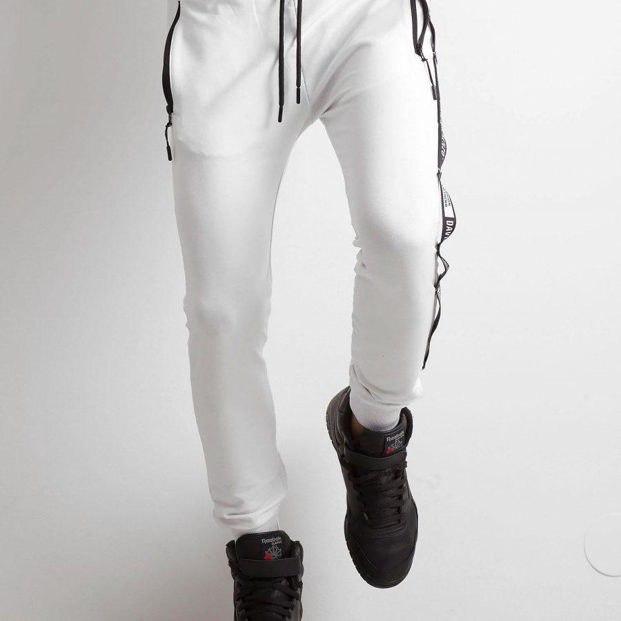 Spodnie dresowe-RT-DR-2-50194.46-biały