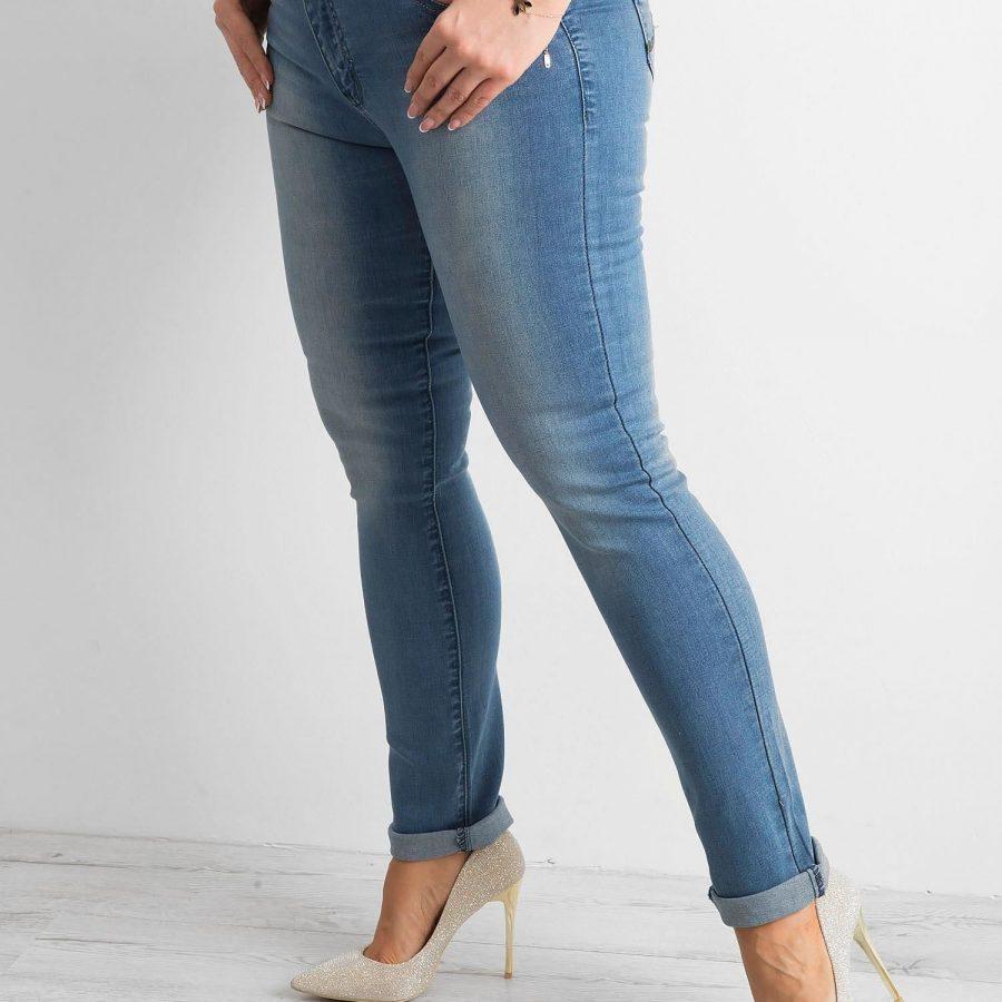 Spodnie jeans-CE-SP-7100.34-niebieski