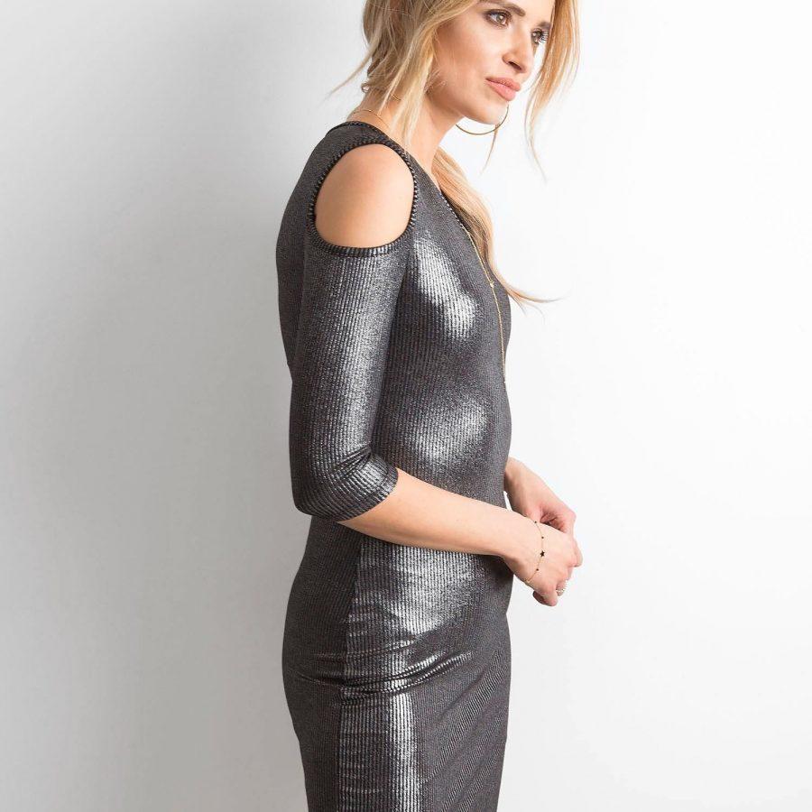 Sukienka-235-SK-1036.30P-czarno-srebrny