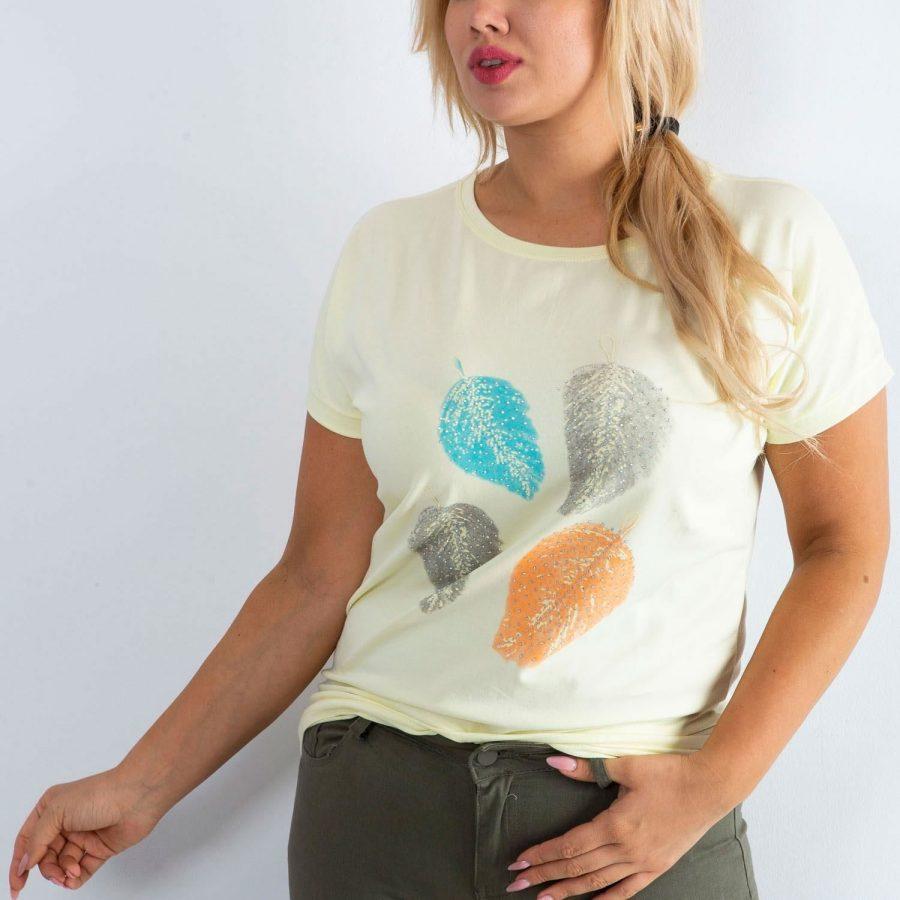 T-shirt-MY-TS-20203.73P-jasny żółty
