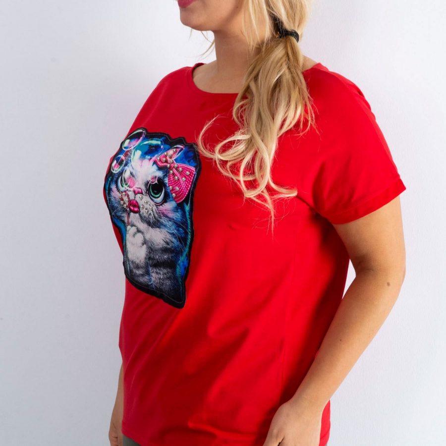 T-shirt-MY-TS-20211.81P-czerwony