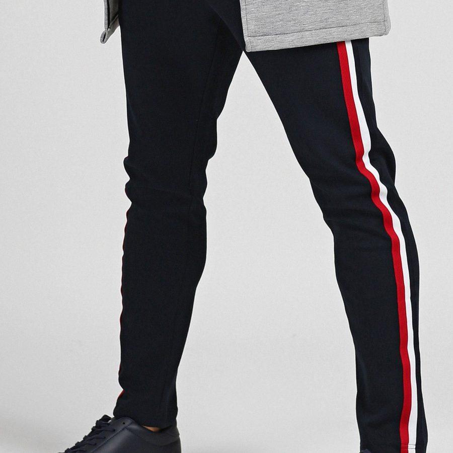 Spodnie dresowe-298-DR-TL-84614.00X-granatowy