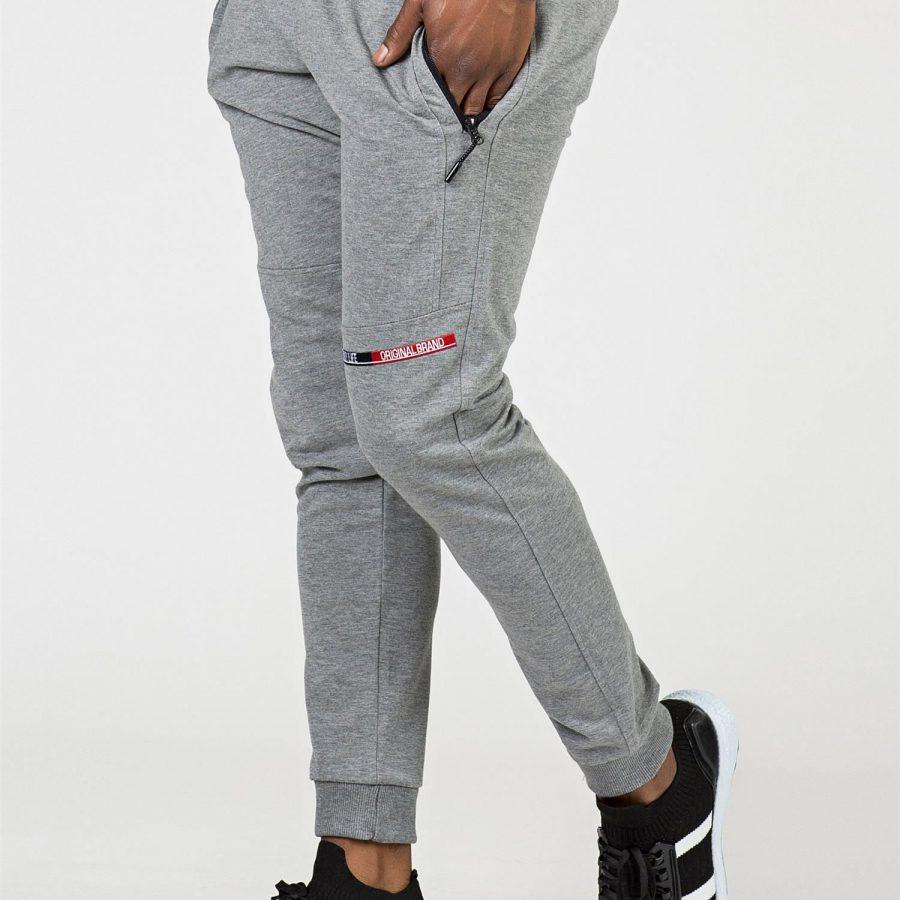 Spodnie dresowe-298-DR-TL-84644.05X-szary