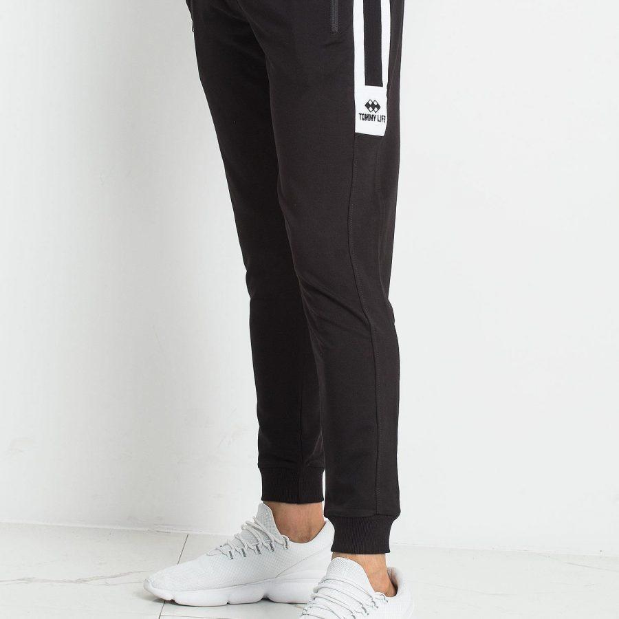 Spodnie dresowe-298-DR-TL-84655.02X-czarny