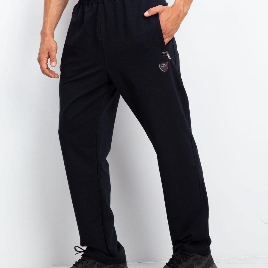 Spodnie dresowe-298-DR-TL-84337.86-granatowy