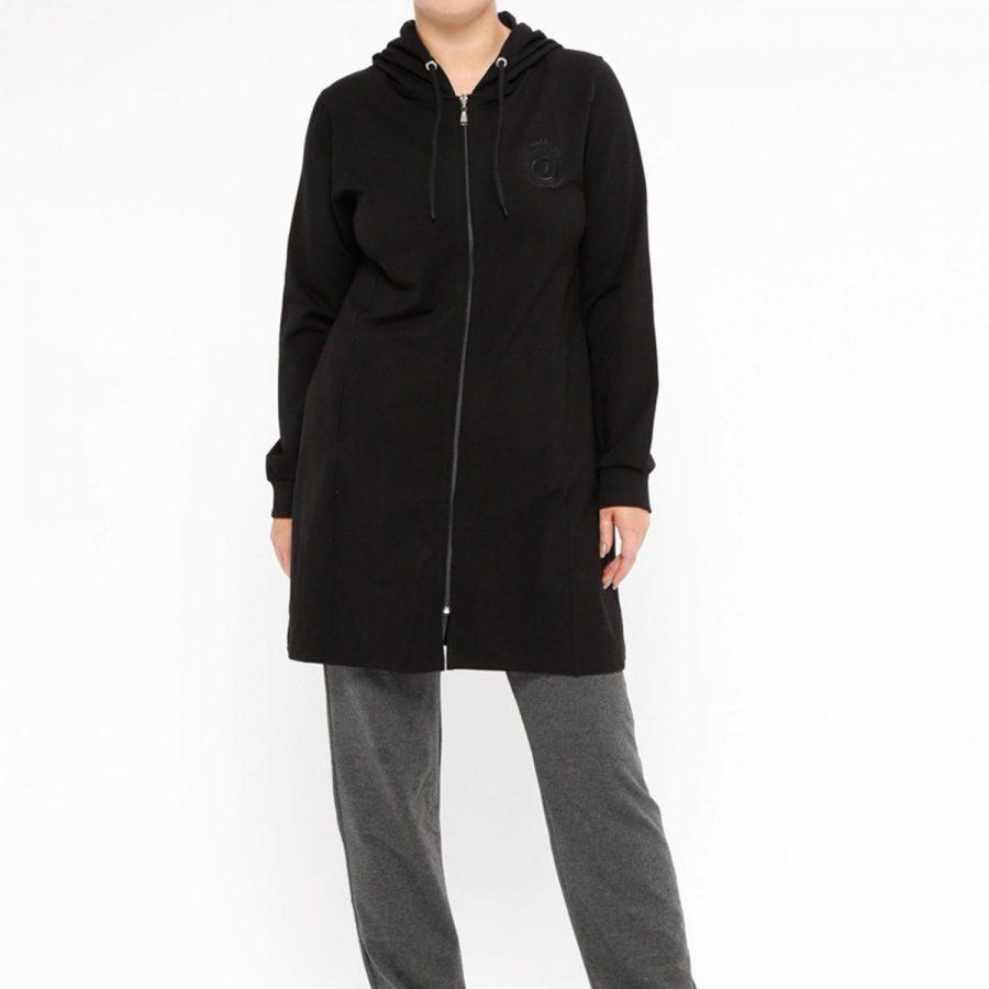 Spodnie dresowe-298-DR-TL-94040.98-ciemny szary