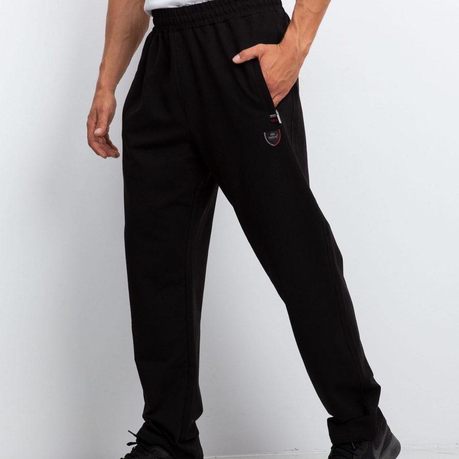 Spodnie dresowe-298-DR-TL-84337.86-czarny