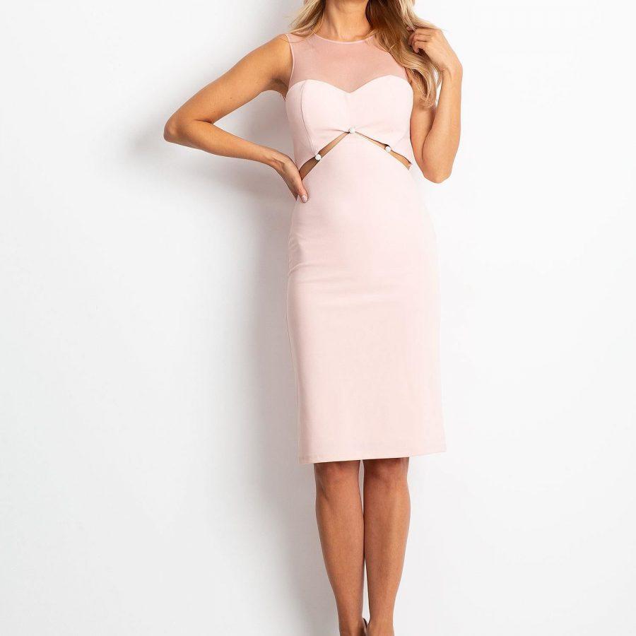 Sukienka-12-SK-75082.67P-różowy