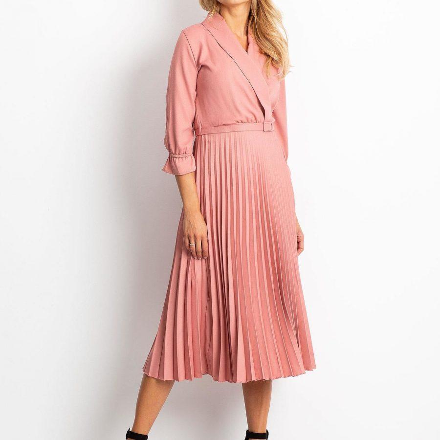 Sukienka-10-SK-19Y0110301.48P-różowy