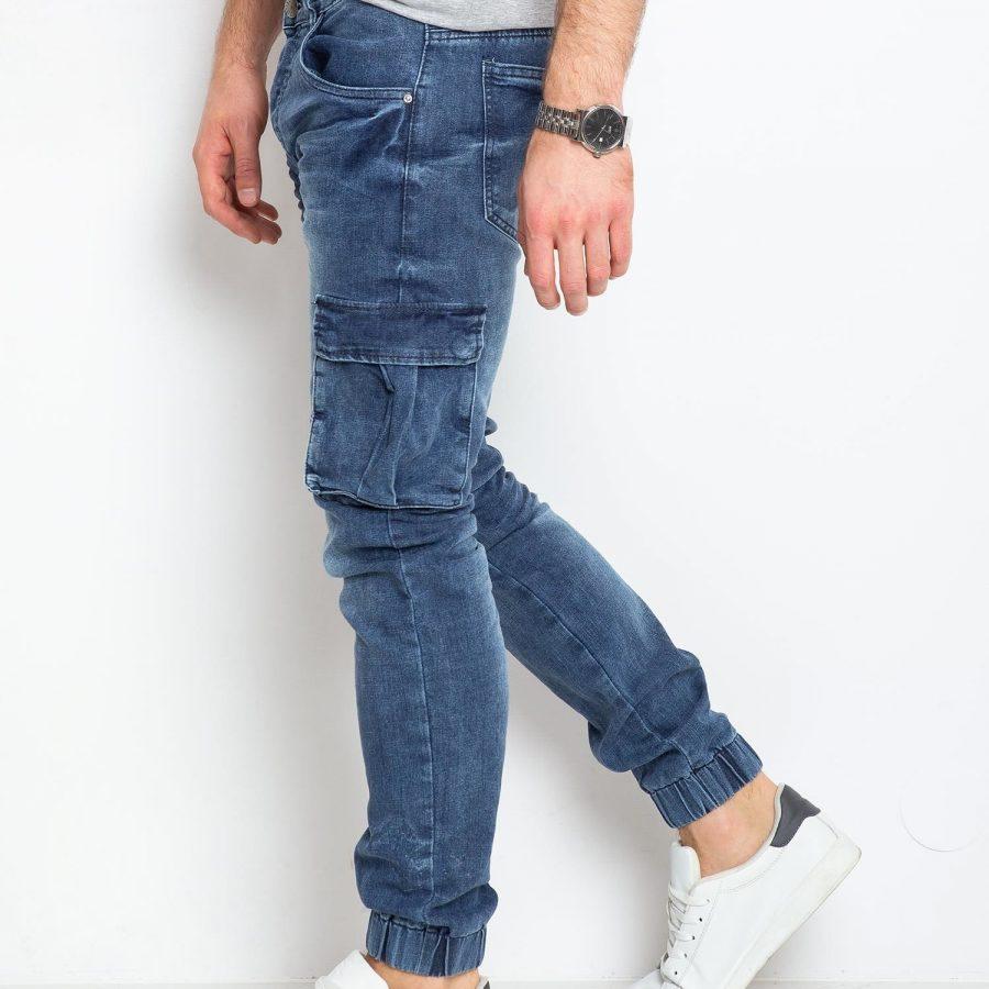 Spodnie jeans-MO-SP-BF6178S.03P-niebieski