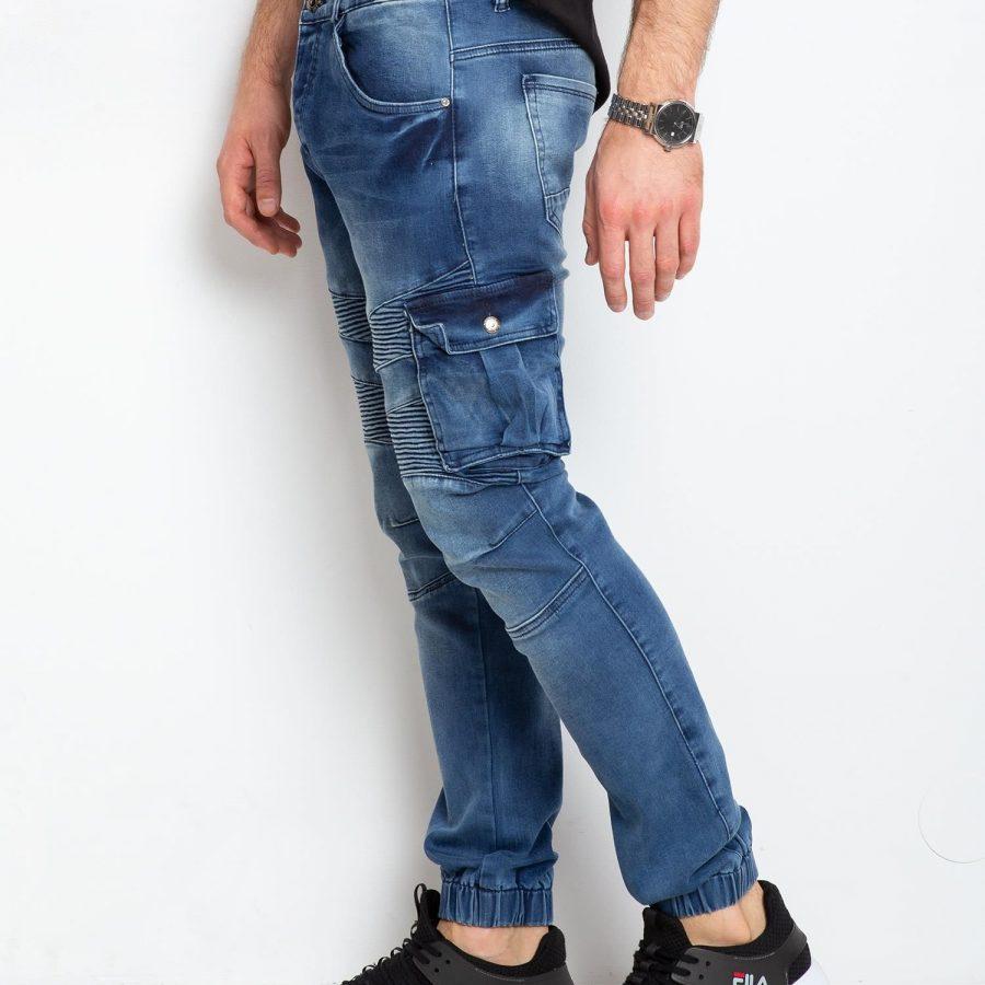 Spodnie jeans-MO-SP-BF6192S.08P-niebieski