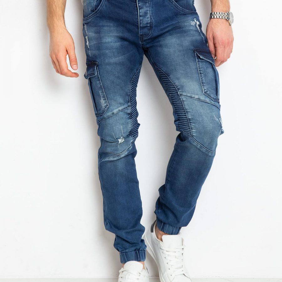 Spodnie jeans-MO-SP-BF6193S.01P-niebieski