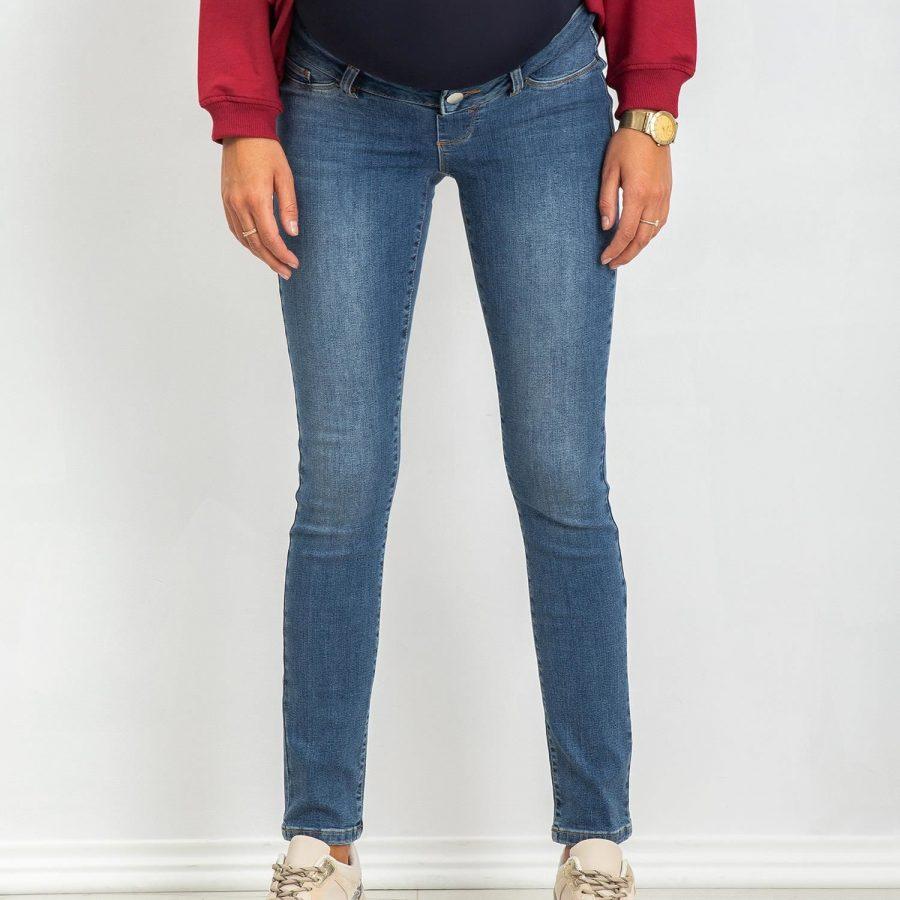 Spodnie jeans-20-SP-HK78.56P-niebieski