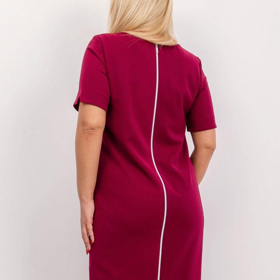 Sukienka-NU-SK-265.89P-bordowy