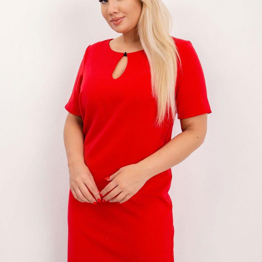 Sukienka-NU-SK-265.89P-czerwony