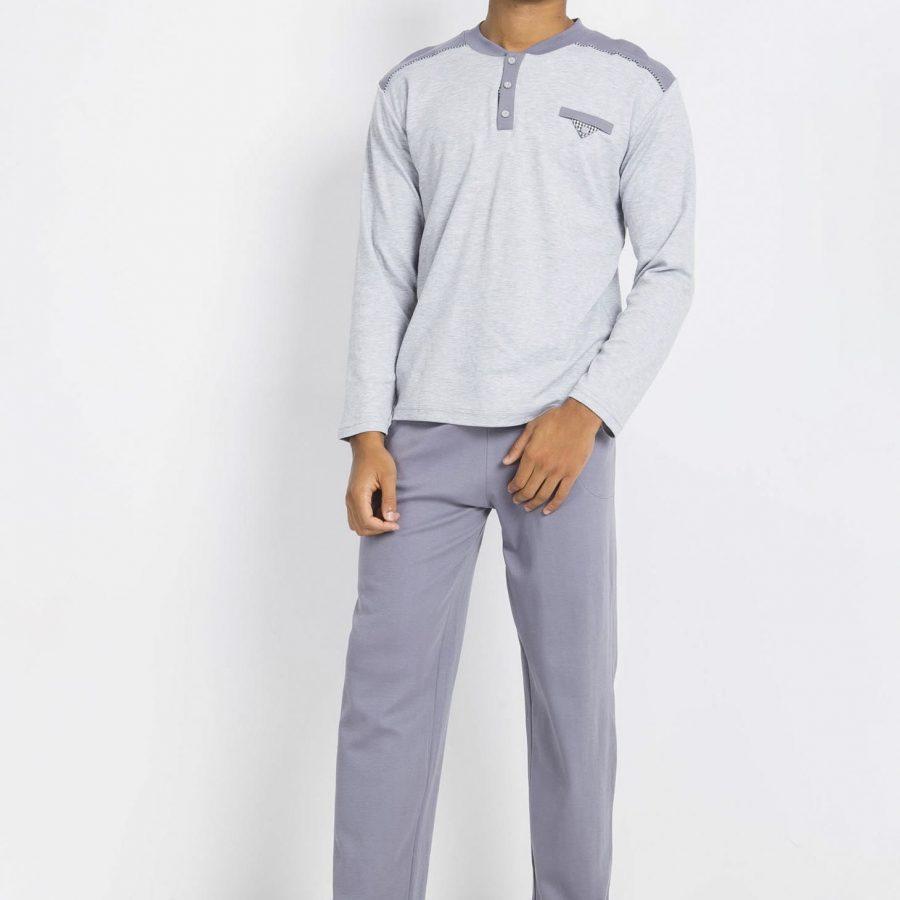 Piżama-BR-PI-1115.06X-szary
