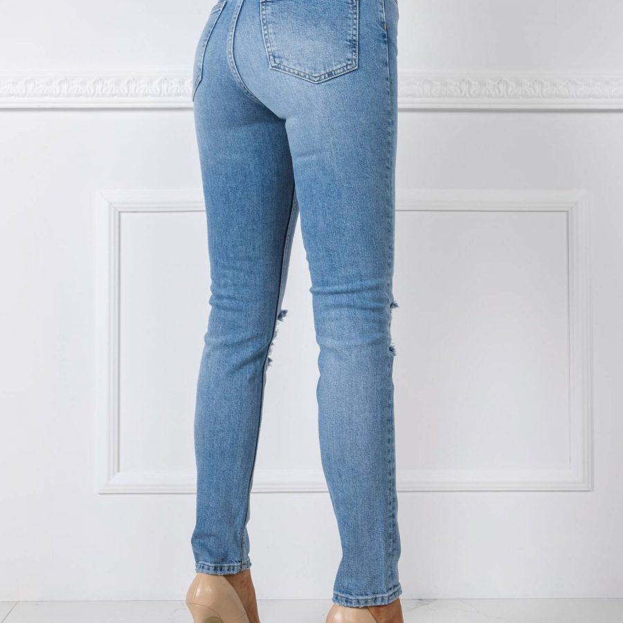 Spodnie jeans-20-SP-DFT1.33-niebieski