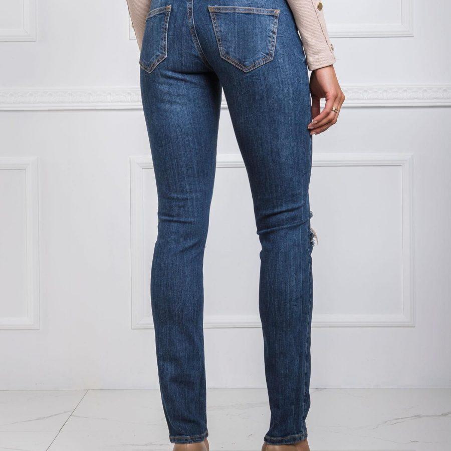 Spodnie jeans-20-SP-DFT2.34-ciemny niebieski