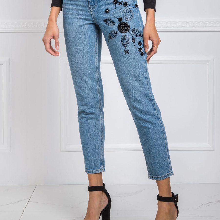 Spodnie jeans-20-SP-DFT3.35-niebieski