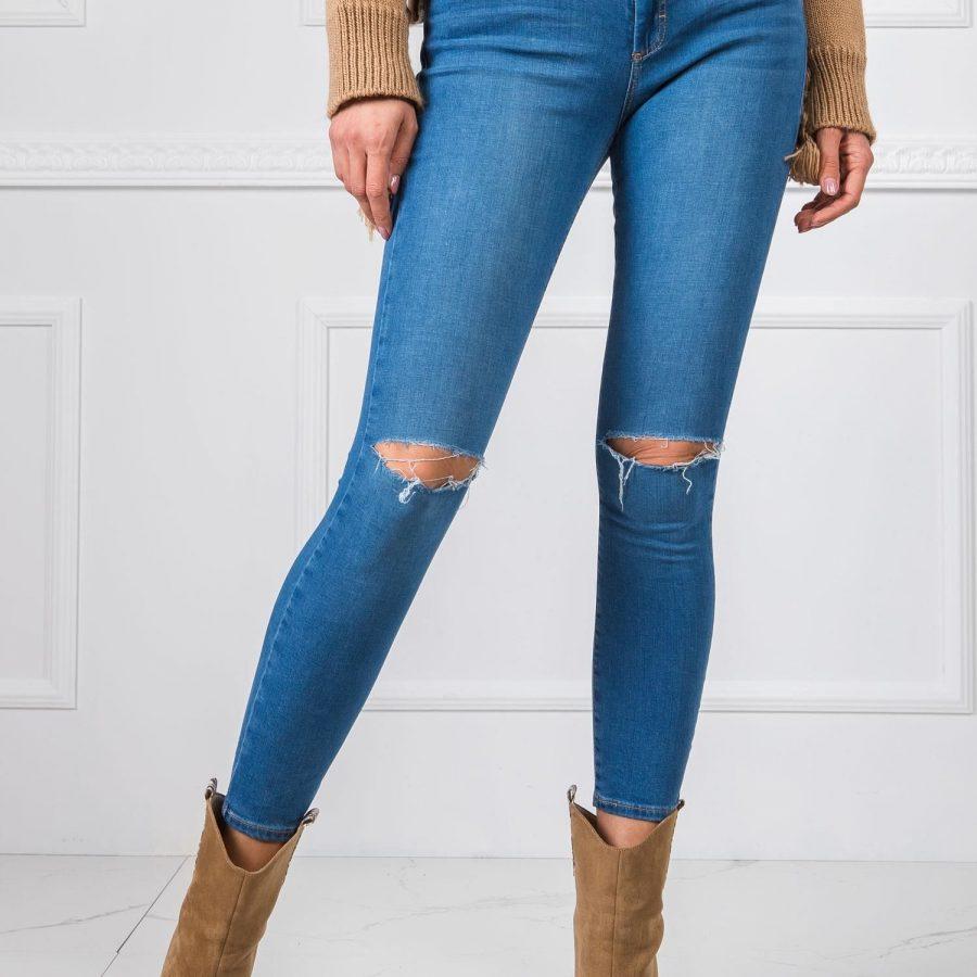 Spodnie jeans-20-SP-VX14.46-niebieski