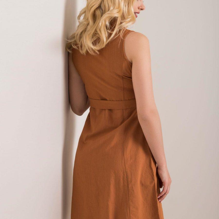 Sukienka-2-SK-1133.25P-brązowy
