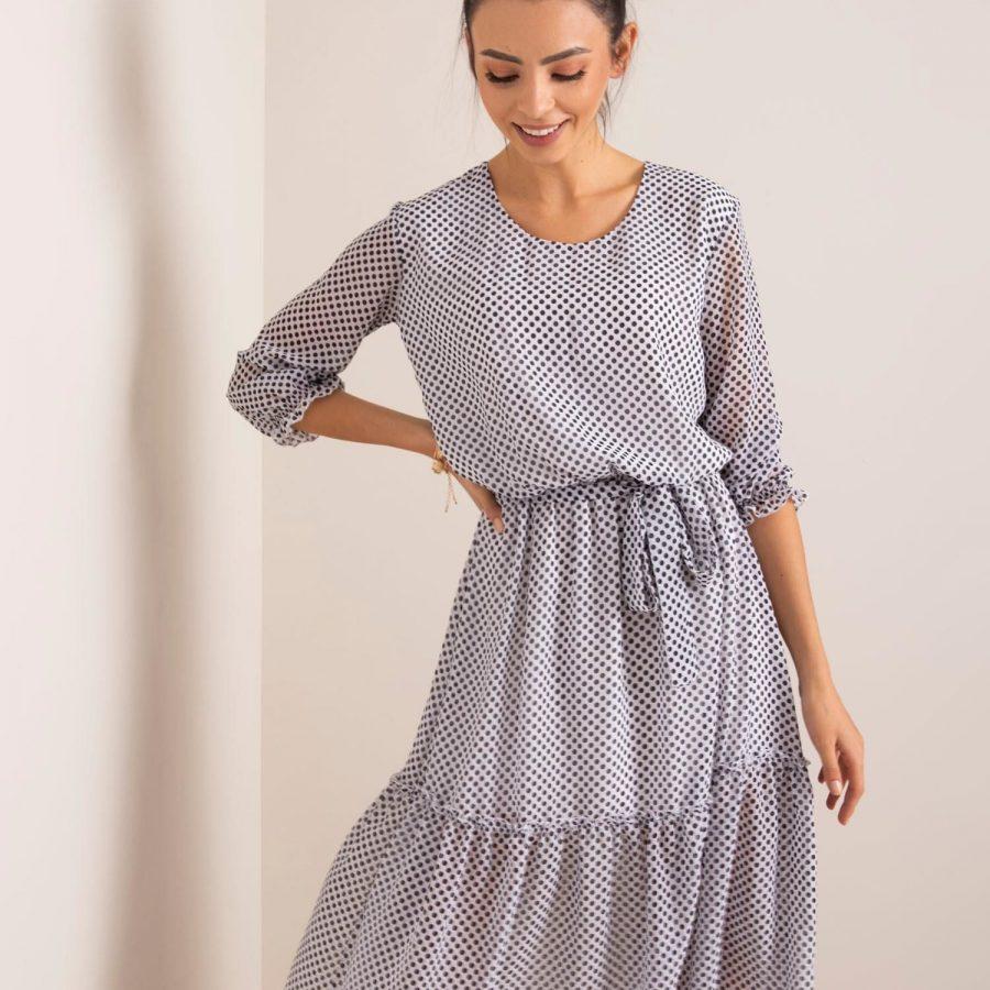 Sukienka-LK-SK-507560.65-biało-czarny