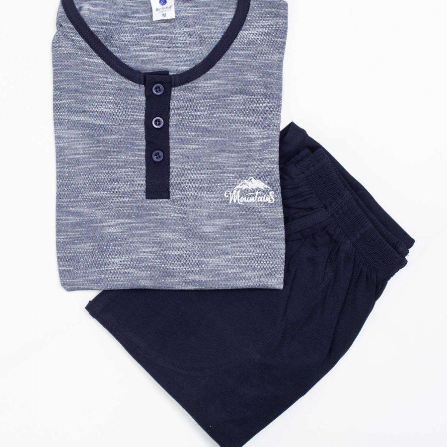 Piżama-BR-PI-3790-niebieski
