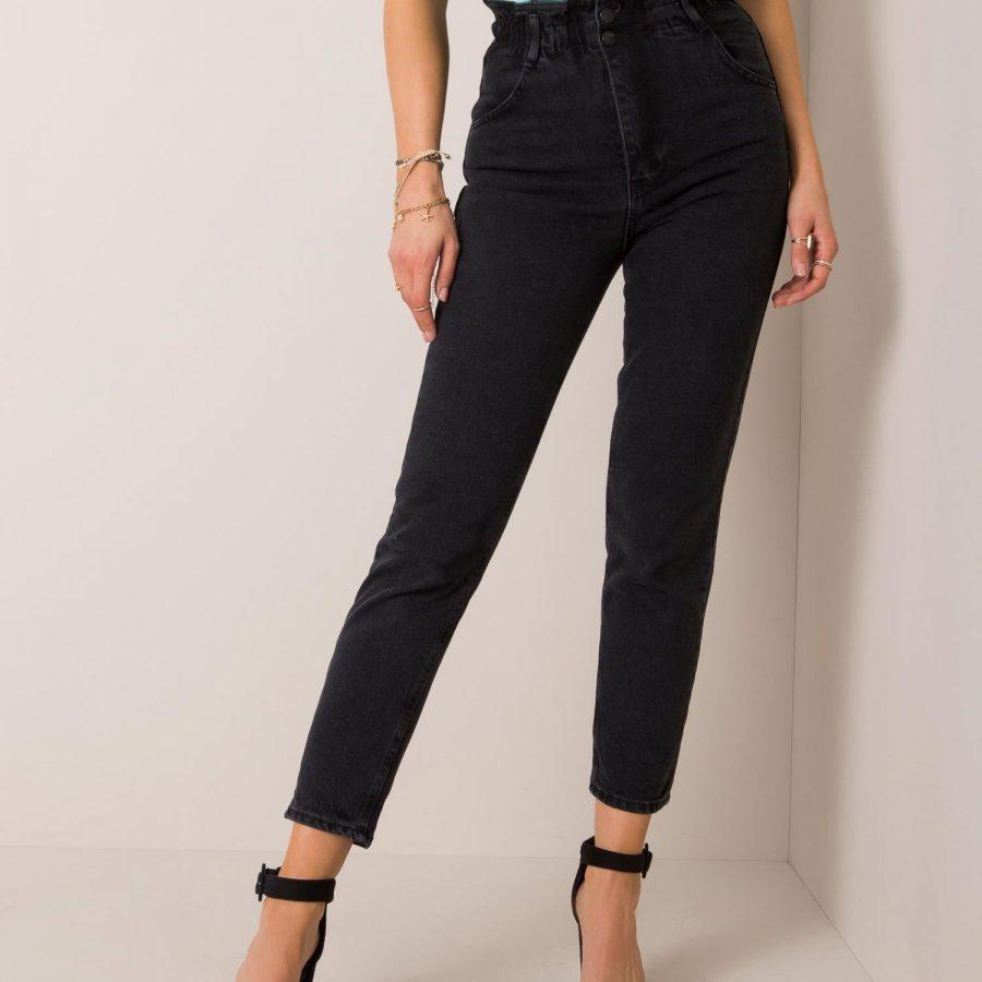 Spodnie jeans-176-SP-AN21.18P-czarny