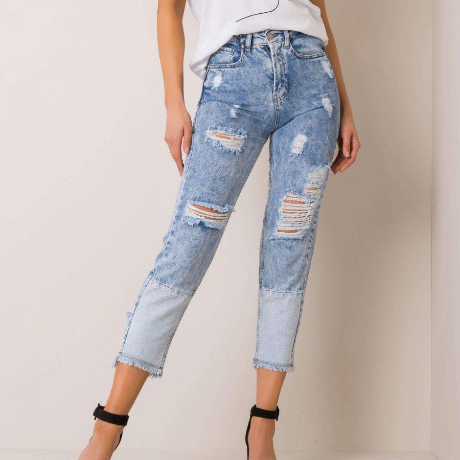 Spodnie jeans-176-SP-RN23.20P-niebieski