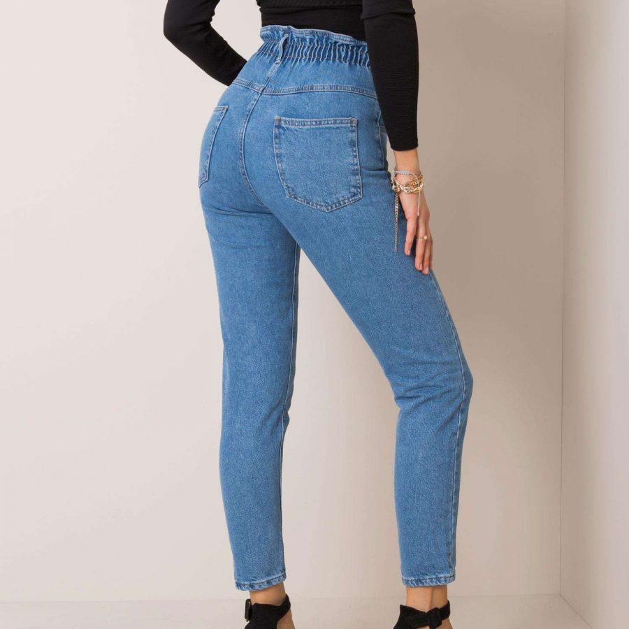 Spodnie jeans-176-SP-SW091.17P-niebieski