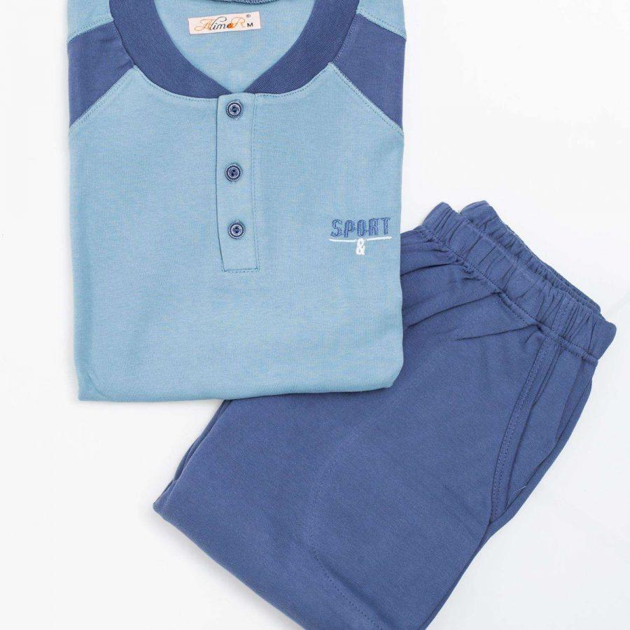 Piżama-BR-PI-1116.05X-niebieski