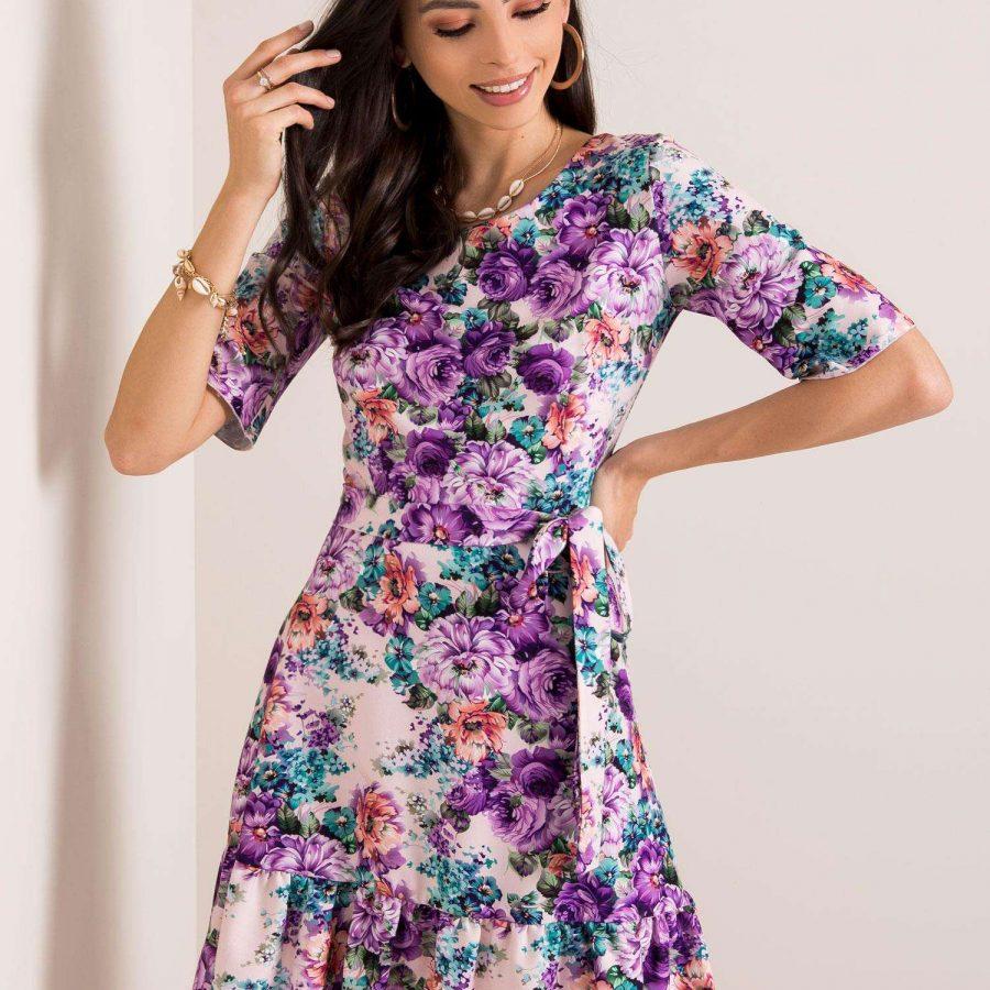Sukienka-LK-SK-507615.04-jasny różowy