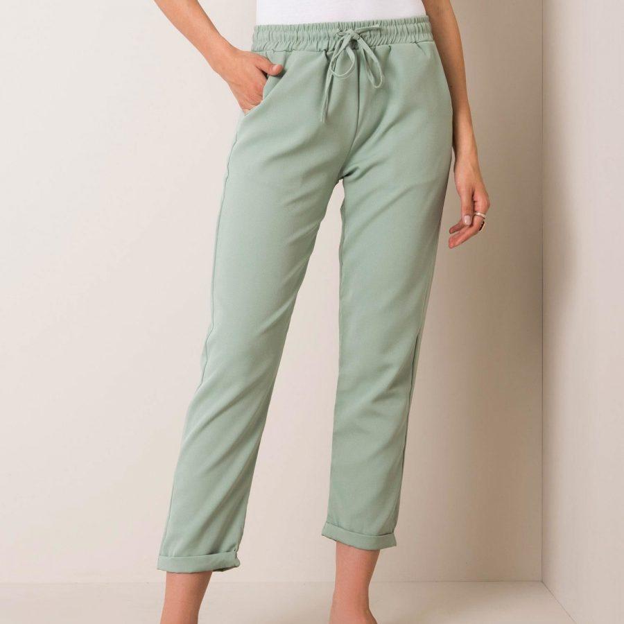 Spodnie-100-SP-3035.40-mietowy