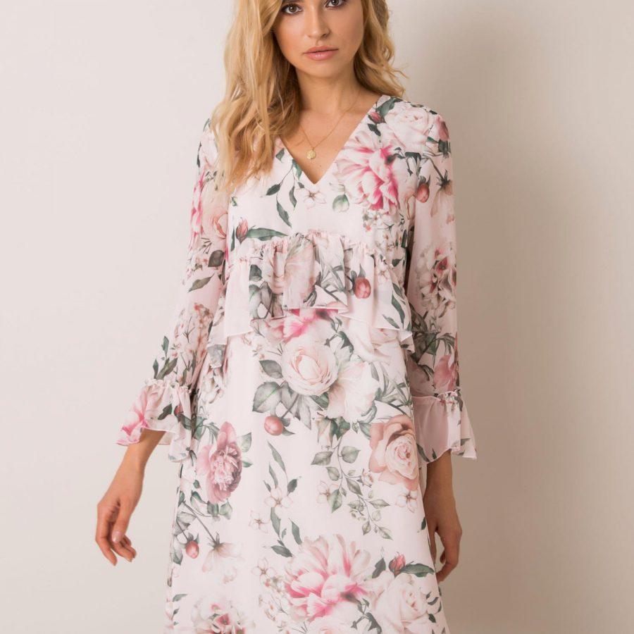 Sukienka-NU-SK-1436.95-jasny różowy