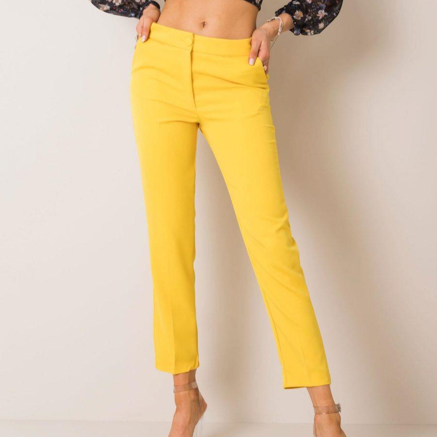 Spodnie-123-SP-173024.58P-żółty